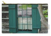 Log Cabin Window Carry-all Pouch