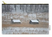 Log Cabins In Valley Forge Carry-all Pouch