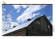 Log Clydesdale Barn Carry-all Pouch