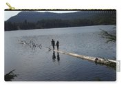 Log In A Lake Carry-all Pouch