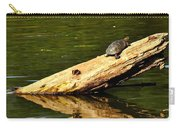 Log Turtle L 3584 Carry-all Pouch