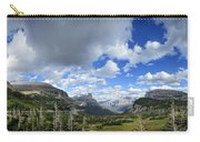Logan Pass Panorama - Glacier National Park Carry-all Pouch