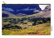 Logans Pass In Glacier National Park Carry-all Pouch