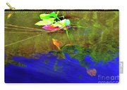 Loggerhead Sea Turtle In The Florida Everglades Carry-all Pouch