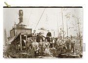 Logging, Clemons Camp No. 3 No. 1, Circa 1920 Carry-all Pouch