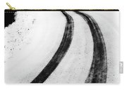 Logging Road In Winter Carry-all Pouch
