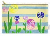Lollipop Flower Bed Carry-all Pouch