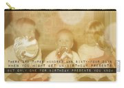 Lollipops Quote Carry-all Pouch