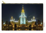 Lomonosov Moscow State University At Night Carry-all Pouch by Alexey Kljatov