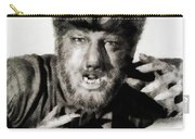 Lon Chaney, Jr. As Wolfman Carry-all Pouch