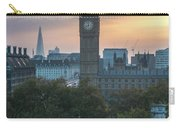 London Big Ben And The Shard Sunrise Carry-all Pouch