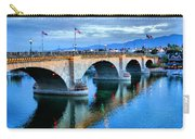 London Bridge At Sunrise Carry-all Pouch