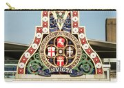London Chatham And Dover Railway Crest With Invicta Motto Blackfriars Railway Station Carry-all Pouch