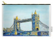London City Tower Bridge Carry-all Pouch