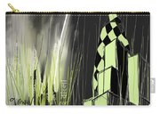 London E1 Skyline Abstract  Carry-all Pouch
