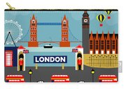 London England Horizontal Scene - Collage Carry-all Pouch