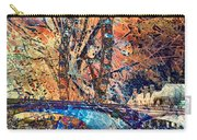 London Eye Abstract Carry-all Pouch