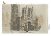 London Lincoln Cathedral. Carry-all Pouch