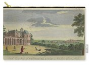 London Magazine, London South East View Of Gloucester Lodge In Windsor Great Park Published Aug 1780 Carry-all Pouch