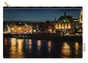 London Night Magic - Colorful Reflections On The Thames River Carry-all Pouch