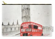 London Red Bus Carry-all Pouch