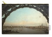 London Seen Through An Arch Of Westminster Bridge Carry-all Pouch