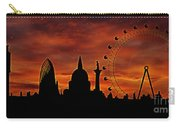 London Skyline At Dusk Carry-all Pouch