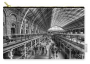 London St Pancras Station Bw Carry-all Pouch