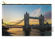 London Sunrise Carry-all Pouch