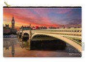 London Sunset Carry-all Pouch