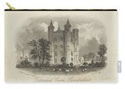 London Tattershall Castle, Lincolnshire. Published 1 Dec 1849 Carry-all Pouch