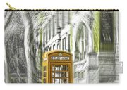 London Telephone Yellow Carry-all Pouch