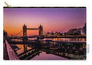 London Tower Bridge. Carry-all Pouch