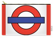 London Underground Blank Carry-all Pouch