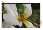 London White Tulip Carry-all Pouch