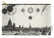London With Eclipse Diagram, 1748 Carry-all Pouch