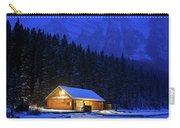 Lone Cabin In The Rockies Carry-all Pouch