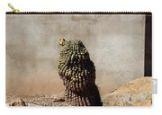 Lone Cactus In Sepia Tone Carry-all Pouch