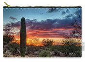 Lone Cactus Carry-all Pouch