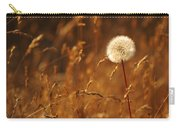 Lone Dandelion Carry-all Pouch
