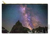 Lone Eagle Peak Dancing In The Milky Way Carry-all Pouch