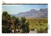Lone Juniper At Red Rock Carry-all Pouch