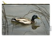 Lone Mallard Carry-all Pouch
