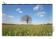 Lone Oak Tree In Wheat Field Carry-all Pouch