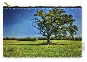 Lone Oak Tree In Wisconsin Field Carry-all Pouch