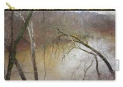 Lone Paddler On The Potomac Carry-all Pouch