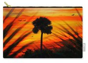 Lone Palm Florida Carry-all Pouch