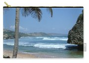 Lone Palm On Barbados Coast Carry-all Pouch
