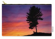Lone Pine Sunset Carry-all Pouch