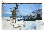 Lone Pines On Lakeshore Carry-all Pouch